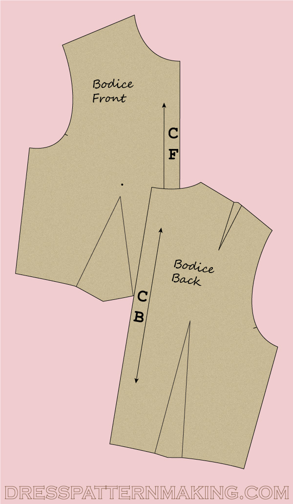 Making the Bodice Block Set