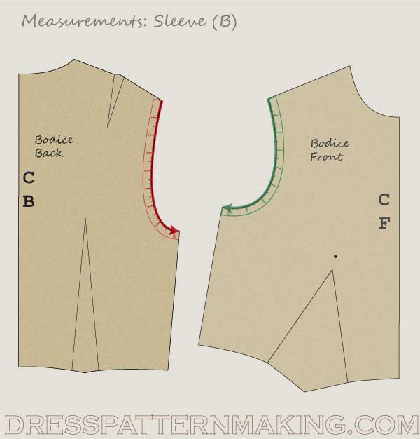 front-and-back-armhole