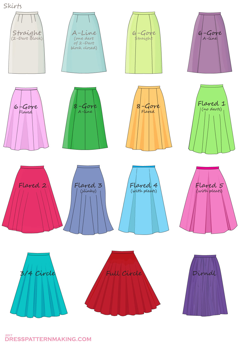 skirts examples