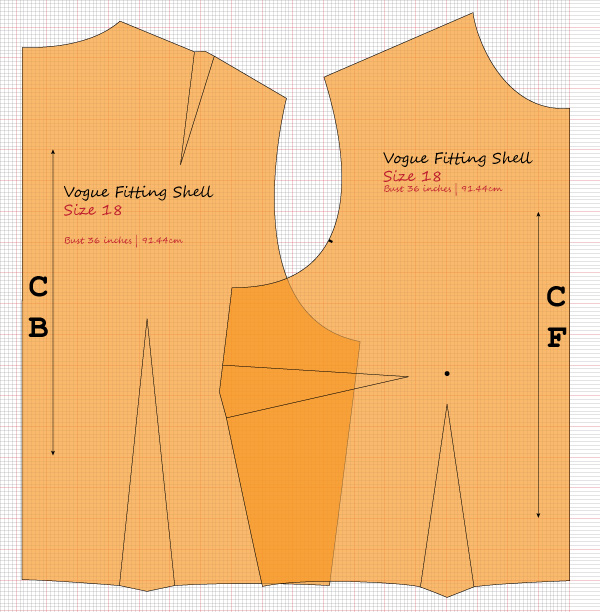 vogue fitting block