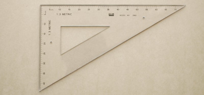 third scale ruler